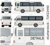 vector illustration passenger... | Shutterstock .eps vector #72422440
