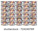 pattern design | Shutterstock .eps vector #724240789