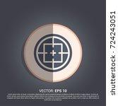 simple crosshair icon