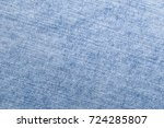 light jeans denim texture close ... | Shutterstock . vector #724285807
