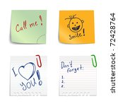 Stickers With Notes