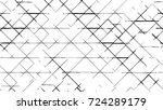 black white seamless grunge... | Shutterstock .eps vector #724289179