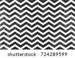 zigzag black lines seamless... | Shutterstock .eps vector #724289599