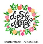vector illustration of beauty... | Shutterstock .eps vector #724358431