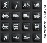 transportation icon on square... | Shutterstock .eps vector #72435973