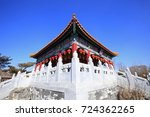 ancient chinese architecture   Shutterstock . vector #724362265