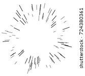 sun burst  star burst sunshine. ... | Shutterstock .eps vector #724380361