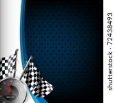 speed racing background with... | Shutterstock .eps vector #72438493