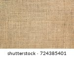burlap texture background | Shutterstock . vector #724385401