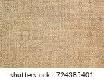 burlap texture background | Shutterstock . vector #724385401