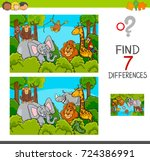 cartoon vector illustration of... | Shutterstock .eps vector #724386991