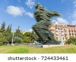 athens  greece   september 28 ... | Shutterstock . vector #724433461