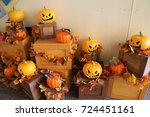 halloween | Shutterstock . vector #724451161