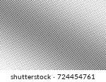 dotted halftone gradient vector ... | Shutterstock .eps vector #724454761