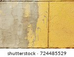 surface of street wall with... | Shutterstock . vector #724485529