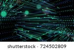 technology digital background.... | Shutterstock . vector #724502809