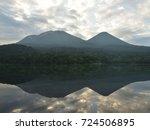 Small photo of Mt.Akan and Lake Onneto in Hokkaido