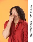 well built native american man... | Shutterstock . vector #72451876