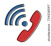 phone service isolated icon
