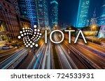 concept of  iota   a... | Shutterstock . vector #724533931