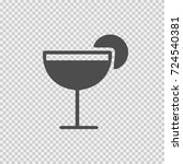 drink vector icon eps 10. party ... | Shutterstock .eps vector #724540381