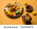 Stock Photo Of Indian Sweet Or...