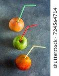 Ripe Organic Fruits Mango...