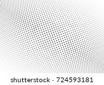 abstract halftone wave dotted... | Shutterstock .eps vector #724593181