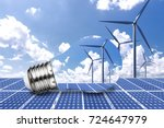 new energy technologies ... | Shutterstock . vector #724647979