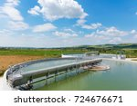 organic waste water treatment... | Shutterstock . vector #724676671