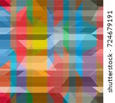 abstract colorful pattern for... | Shutterstock . vector #724679191