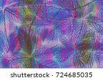 abstract leaf background. | Shutterstock . vector #724685035