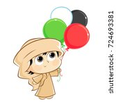 united arab emirates   uae  ... | Shutterstock .eps vector #724693381