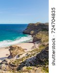 panorama of the cape of good... | Shutterstock . vector #724704835