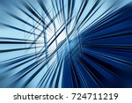 motion blur visual effect on... | Shutterstock . vector #724711219