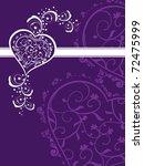 abstract purple creative... | Shutterstock .eps vector #72475999