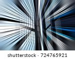 abstract motion blur effect on... | Shutterstock . vector #724765921