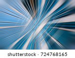 abstract motion blur visual... | Shutterstock . vector #724768165