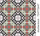 oriental style. seamless... | Shutterstock . vector #724772647