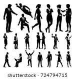 a set of very high quality... | Shutterstock . vector #724794715