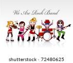 Rock Band Card