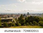 streets of bratislava in summer ... | Shutterstock . vector #724832011