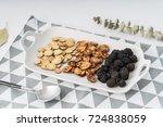 plum liquorice hawthorn   Shutterstock . vector #724838059