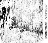 grunge black white. abstract... | Shutterstock . vector #724841017