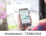 chiang mai  thailand  ... | Shutterstock . vector #724861561