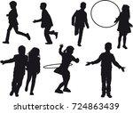 multiple shapes junior...   Shutterstock .eps vector #724863439