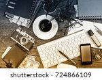business accounting  | Shutterstock . vector #724866109