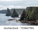 thirle door and the stacks of...
