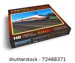 miniature toy railroad   Shutterstock . vector #72488371