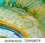 pattern when mixing enamel | Shutterstock . vector #724908079